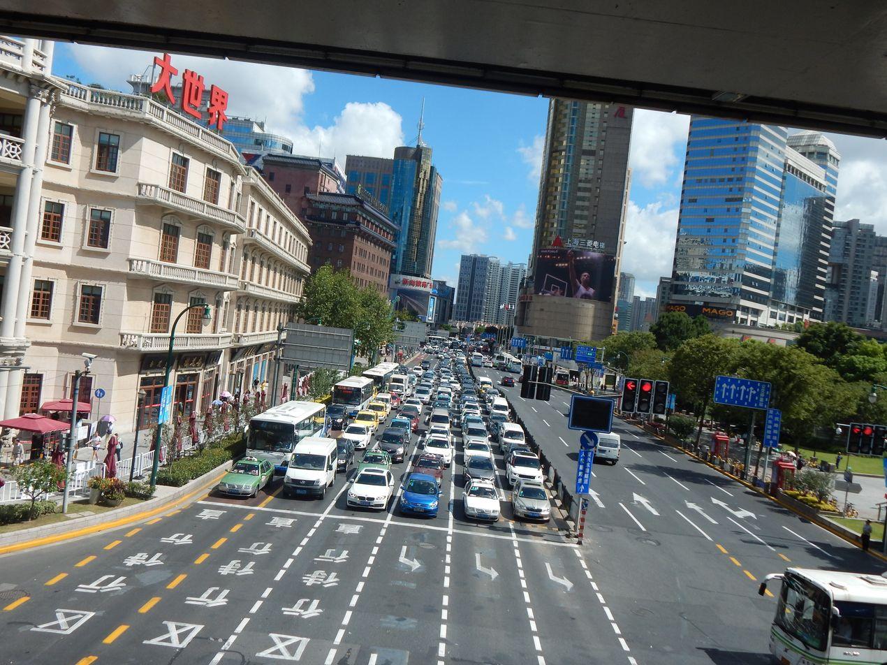 Шанхай. Дороги