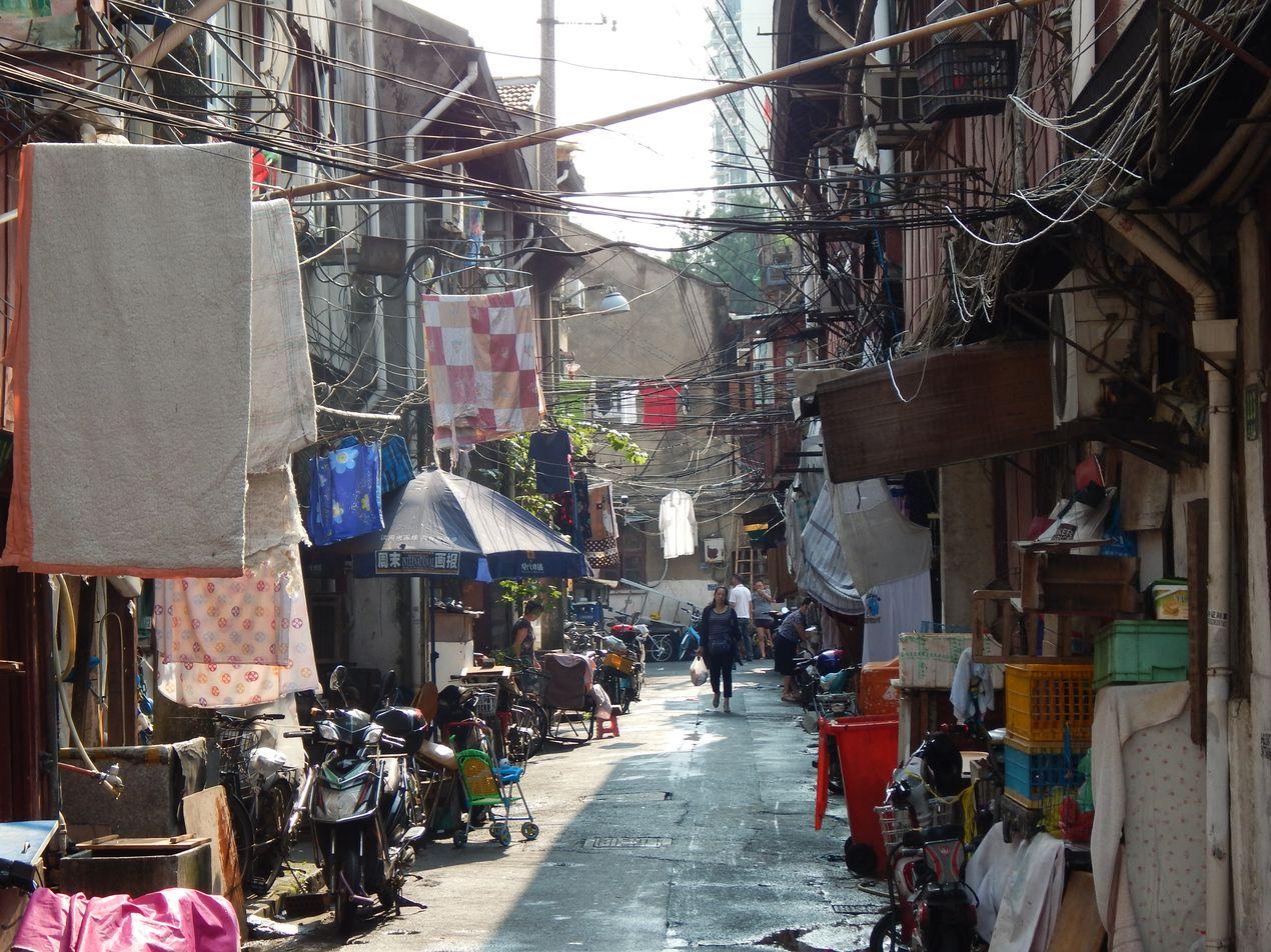 Шанхайские трущобы охраняются от сноса законом