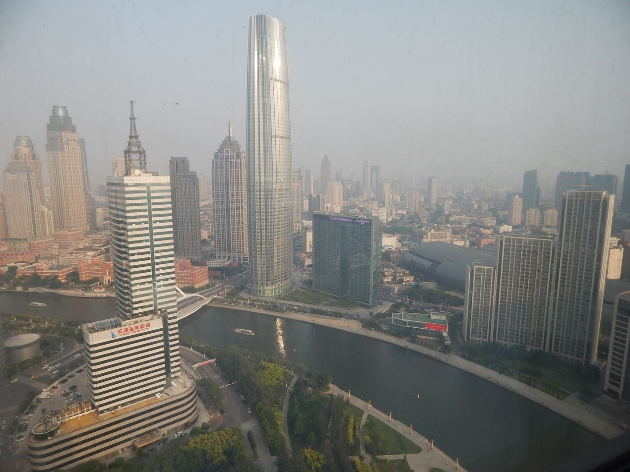 Тяньцзинь. Вид из окна