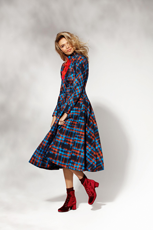 Платье Delpozo / Marcelino Ботинки Poletto / Shoes Concept