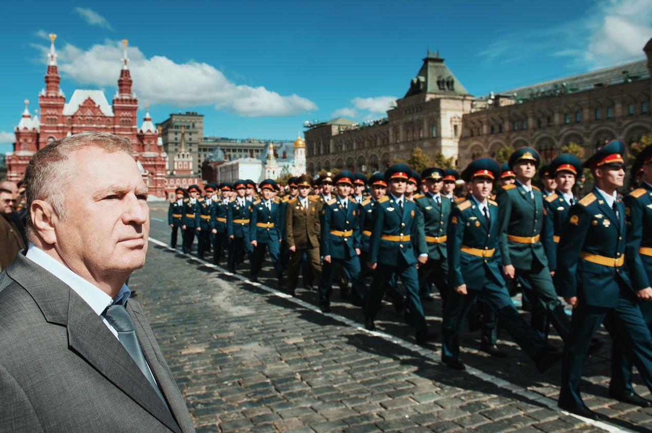 Владимир Жириновский, руководитель фракции ЛДПР