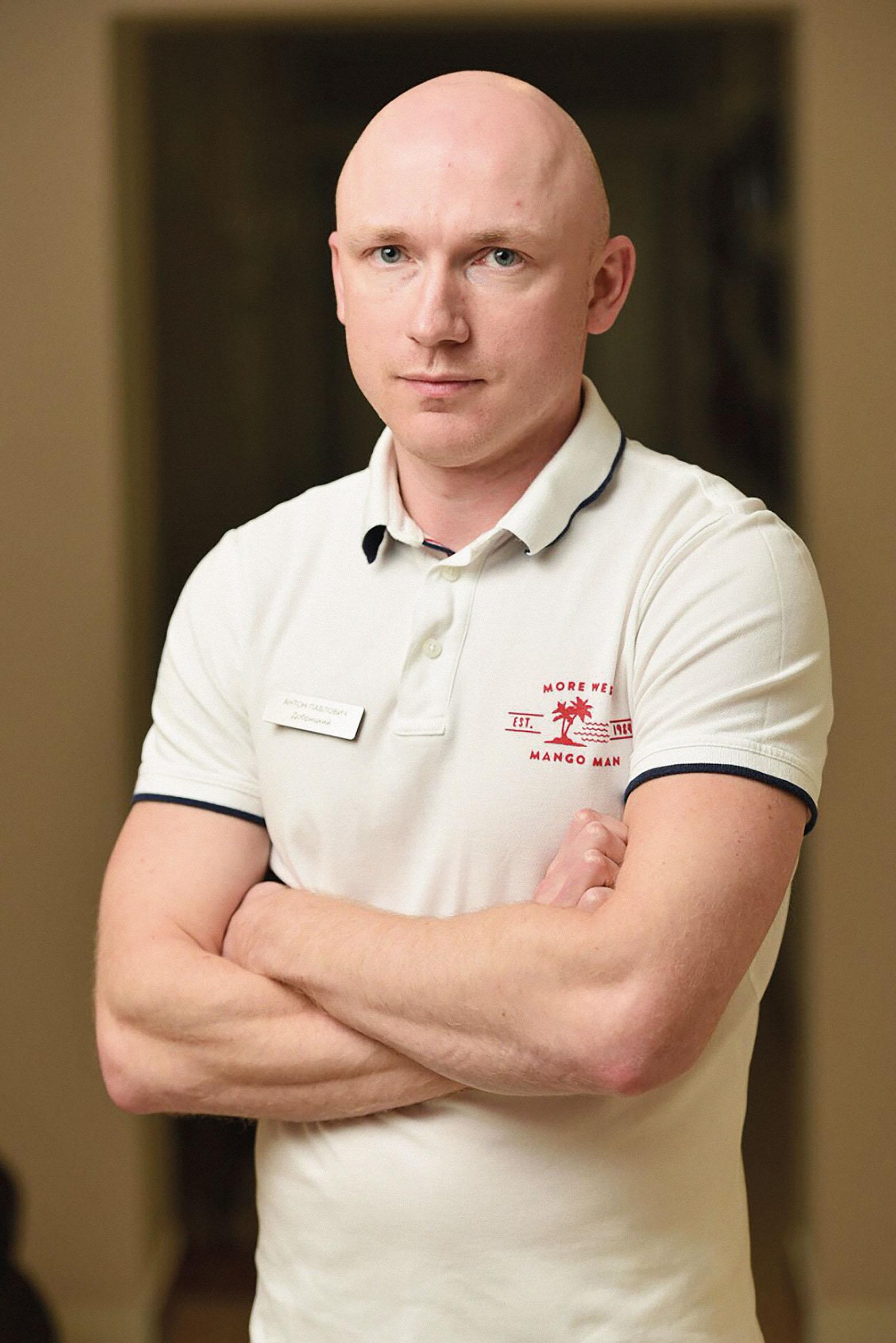 Cтоматолог Антон Добрицкий