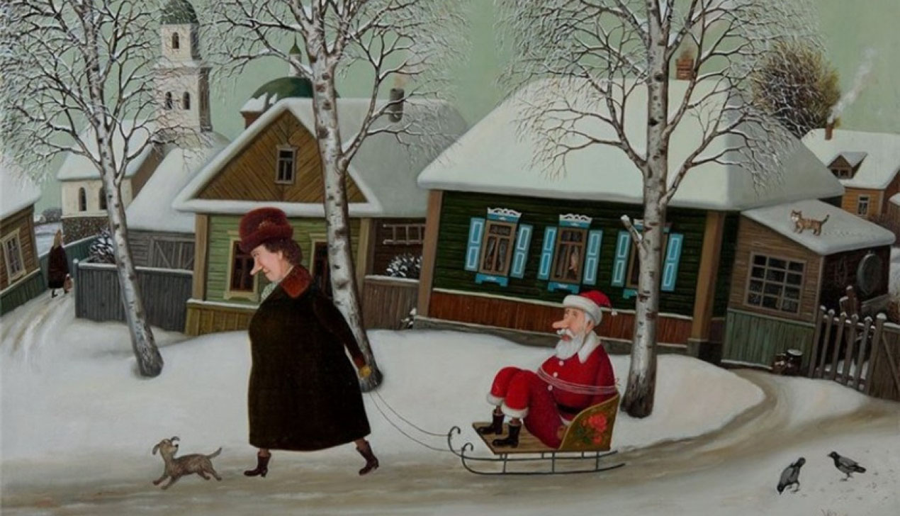 Цифры декабря: елки, пробки и салат «Оливье»