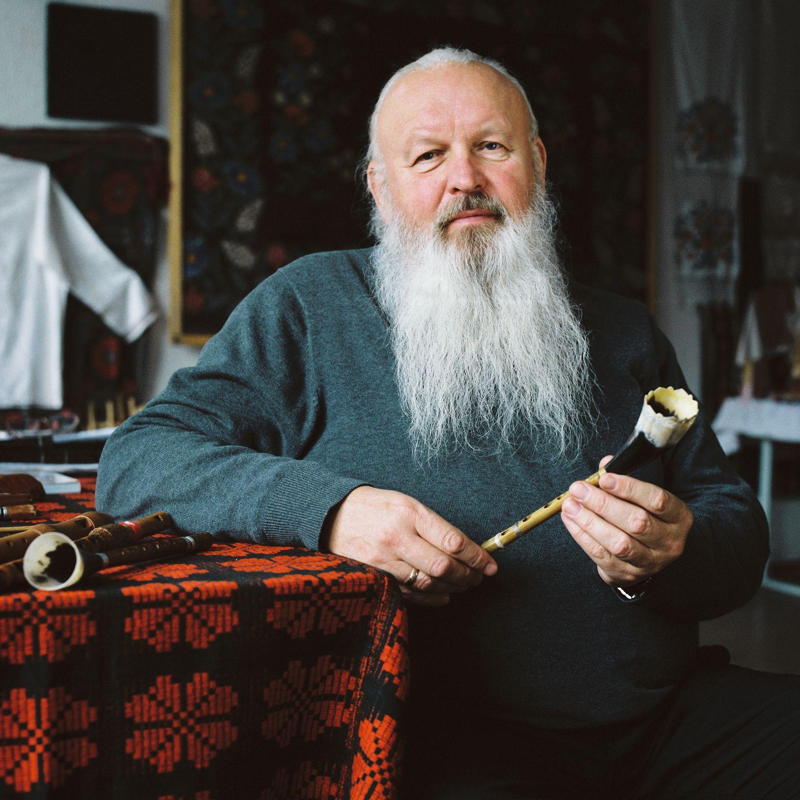 Музыкант, фолклорист и этнограф Иван Кирчук