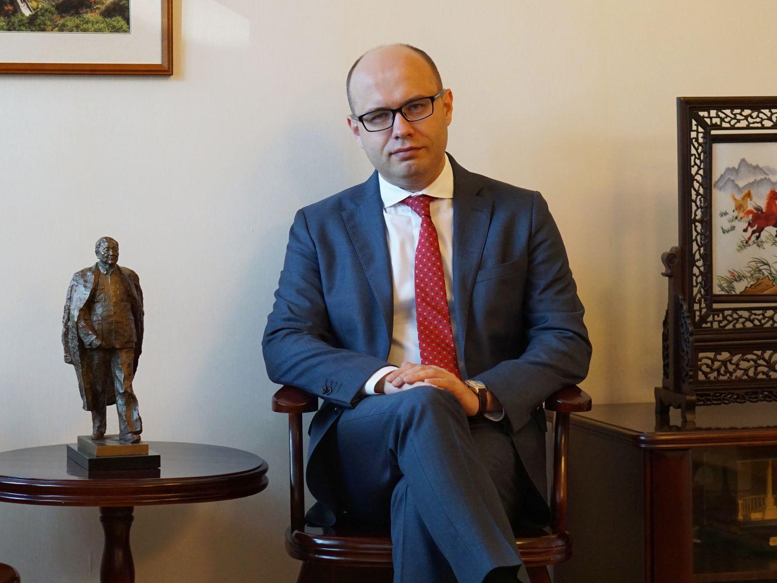 Посол Беларуси в Китае Кирилл Рудый