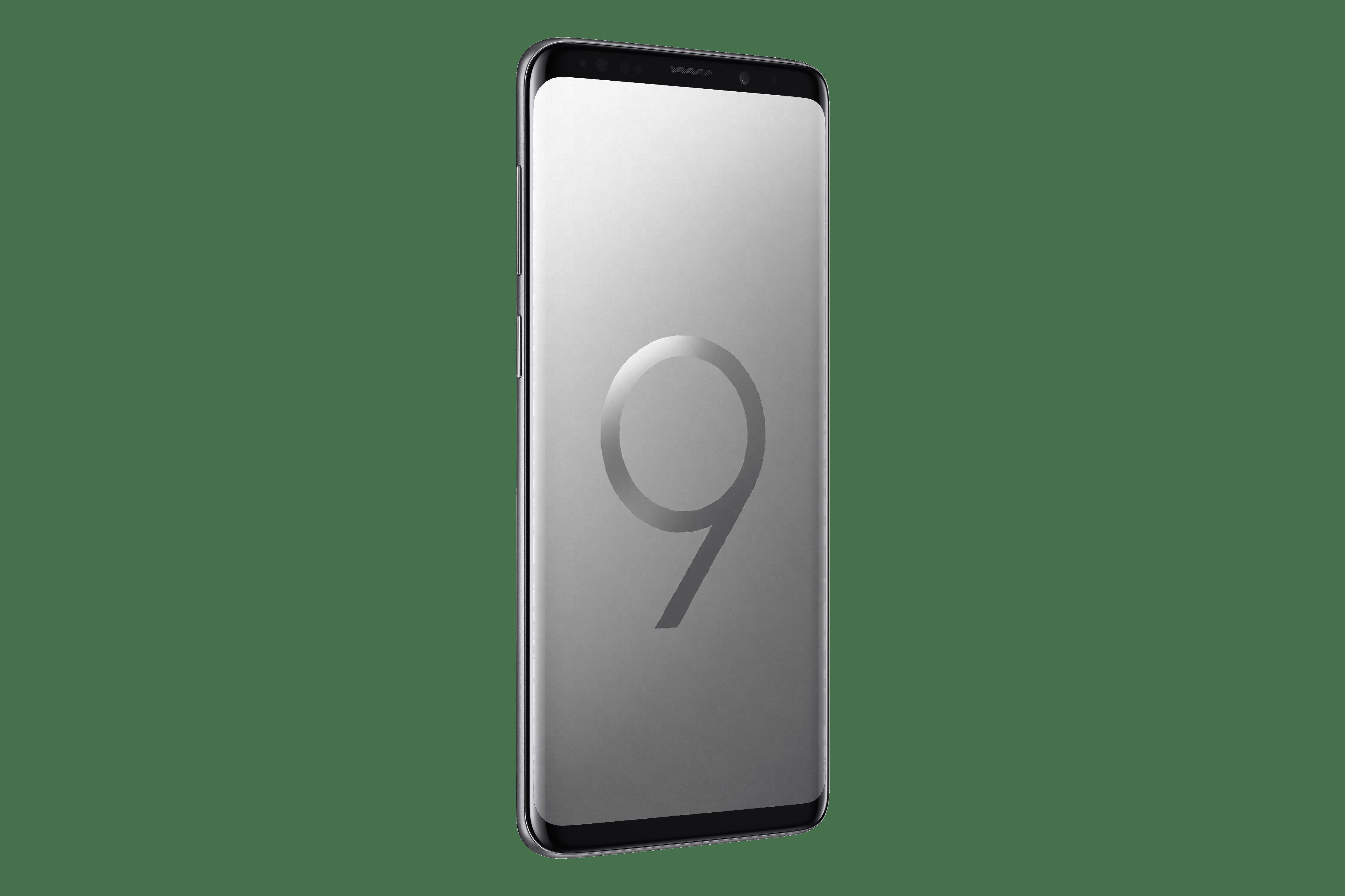 Samsung Galaxy S9+, цвет титан