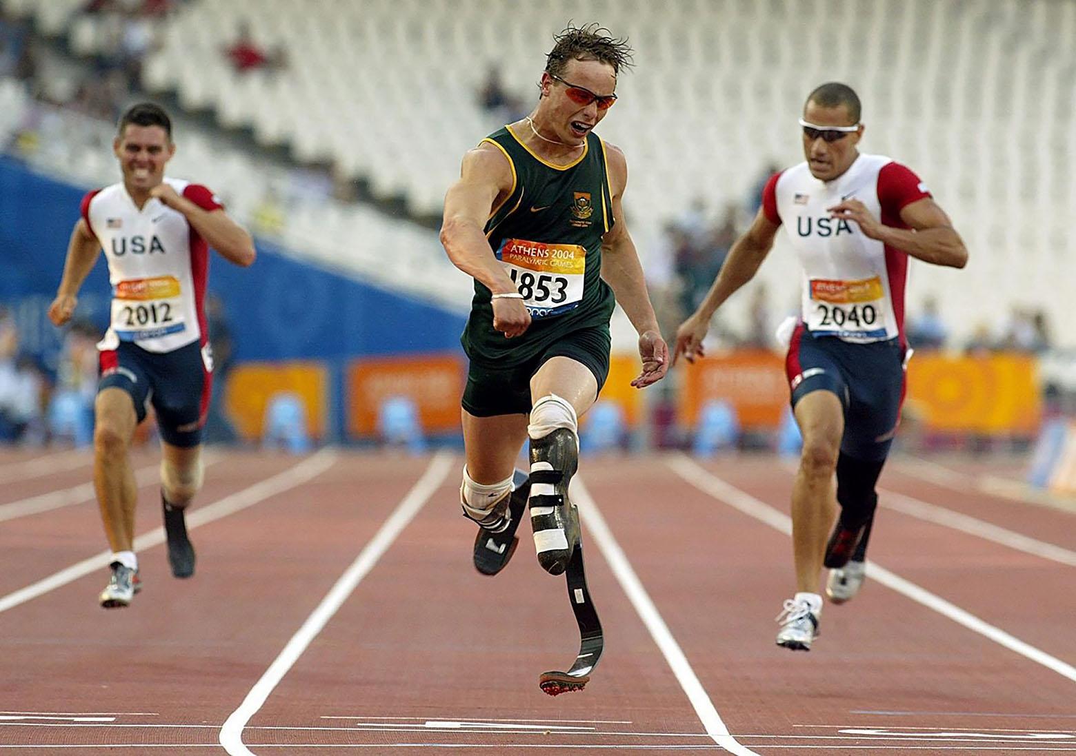 легкоатлет Оскар Писториус, ЮАР