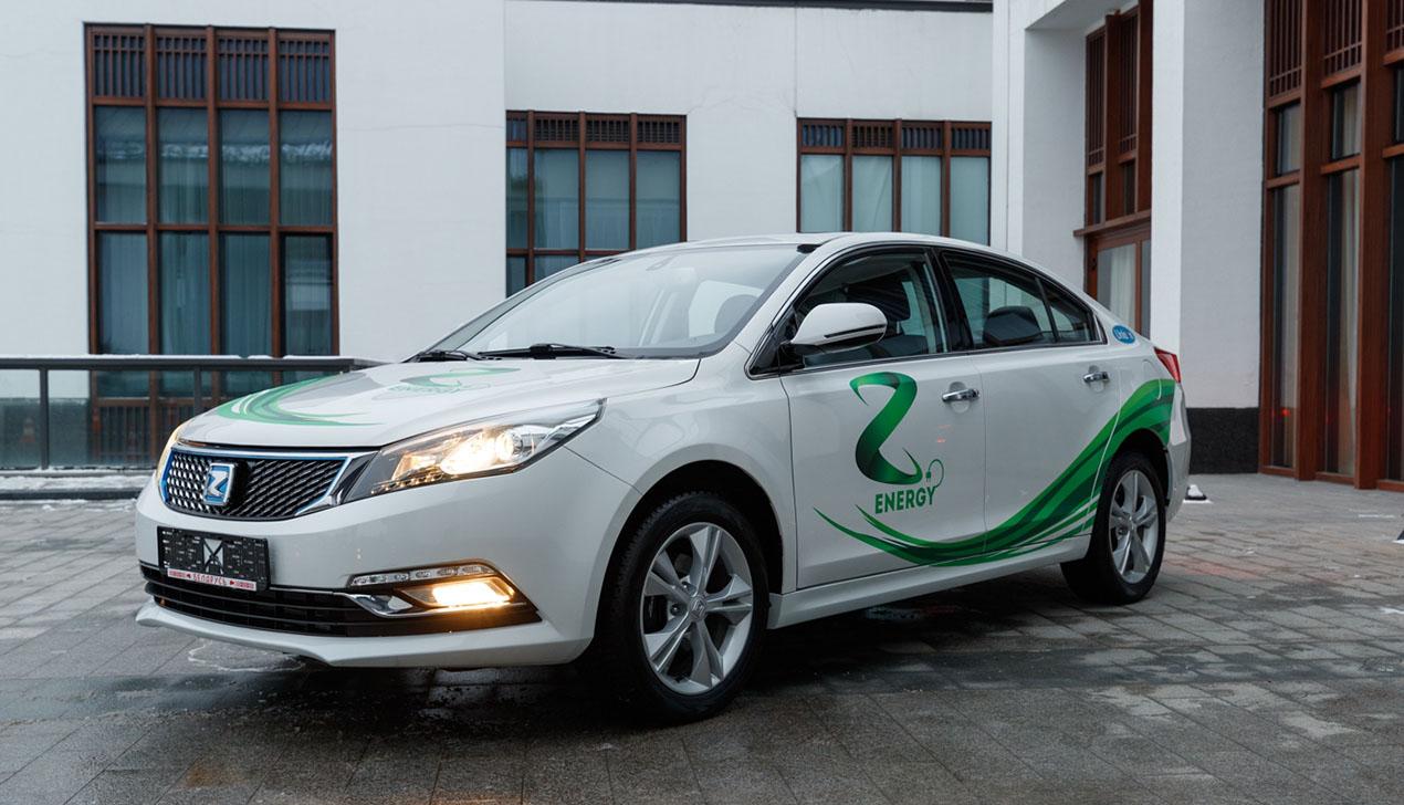 В Минске презентовали первые электромобили Zotye