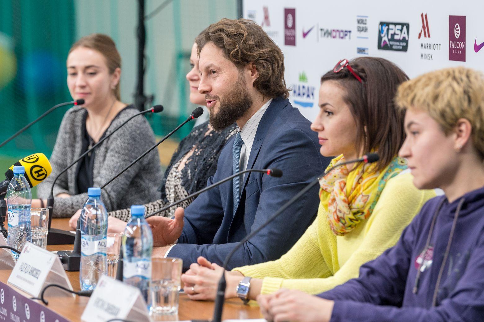 Минске пройдет турнир по сквошу