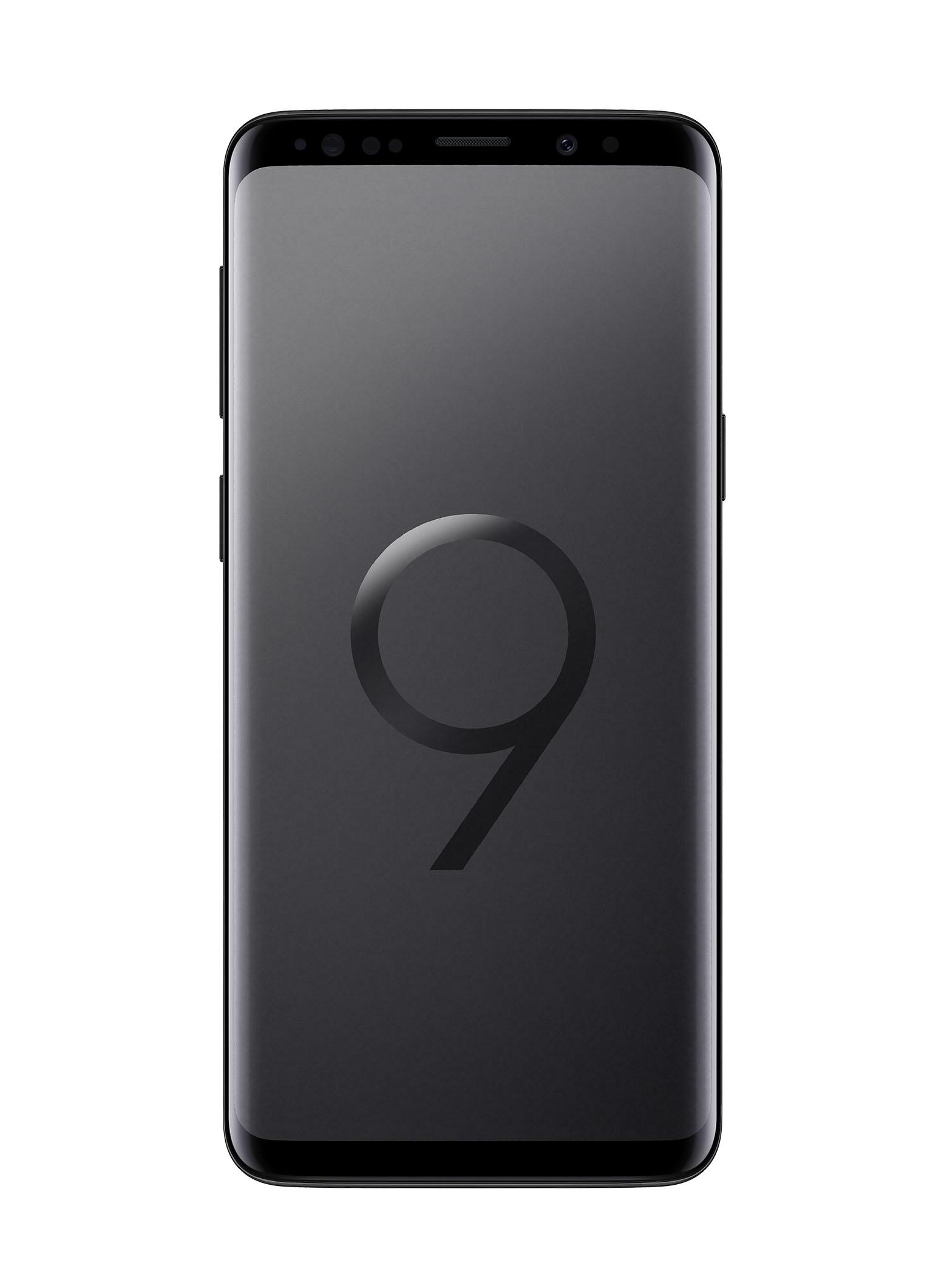 Galaxy S9, цвет черный бриллиант