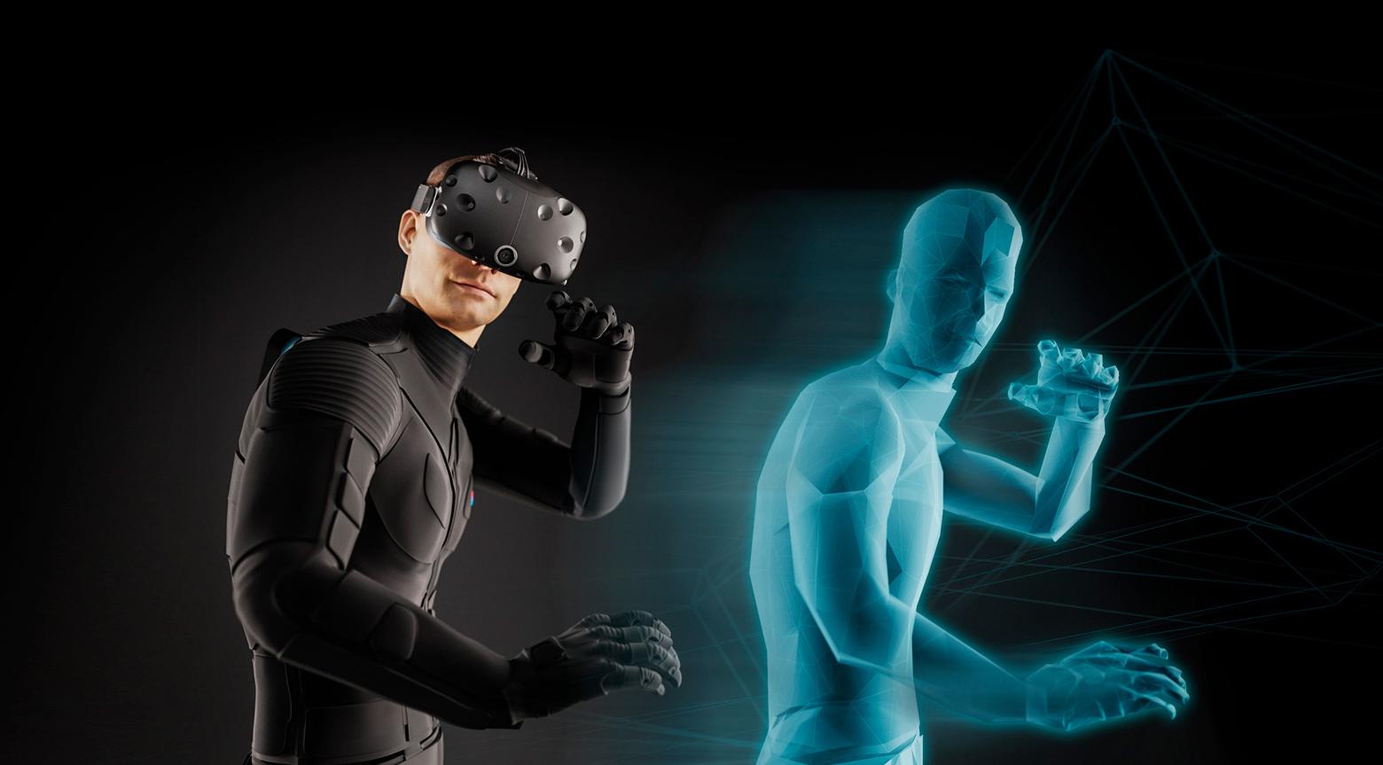 VR-одежда Teslasuit