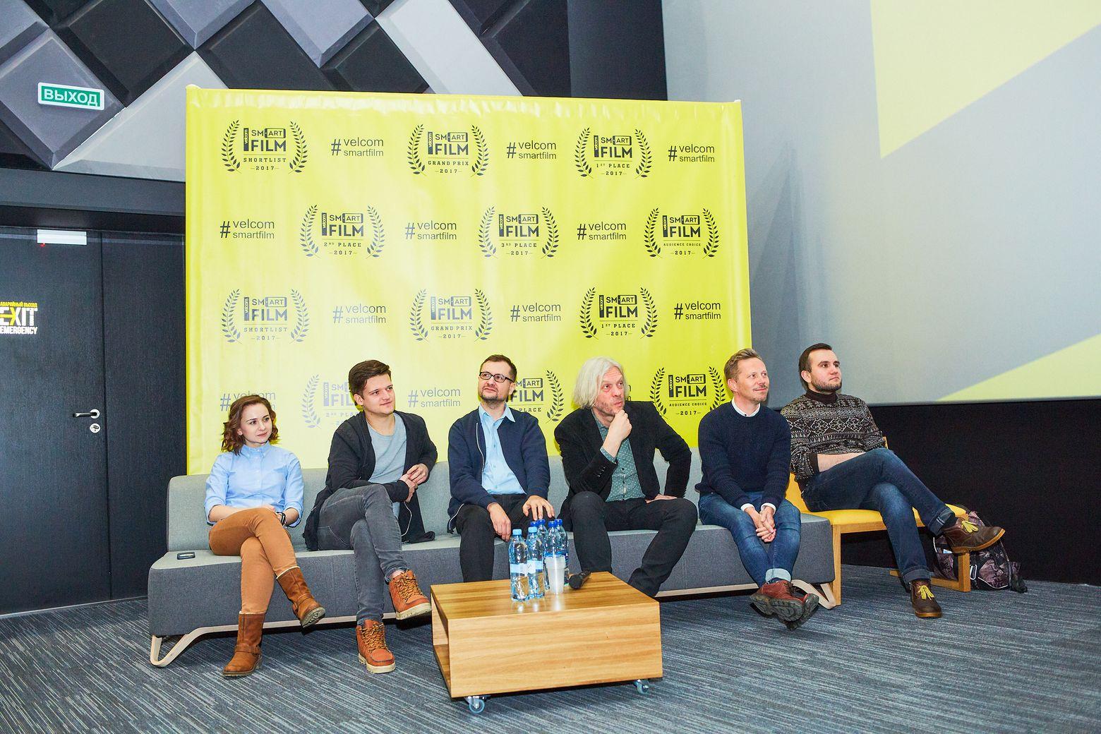 Жюри фестиваля мобильного кино velcom Smartfilm
