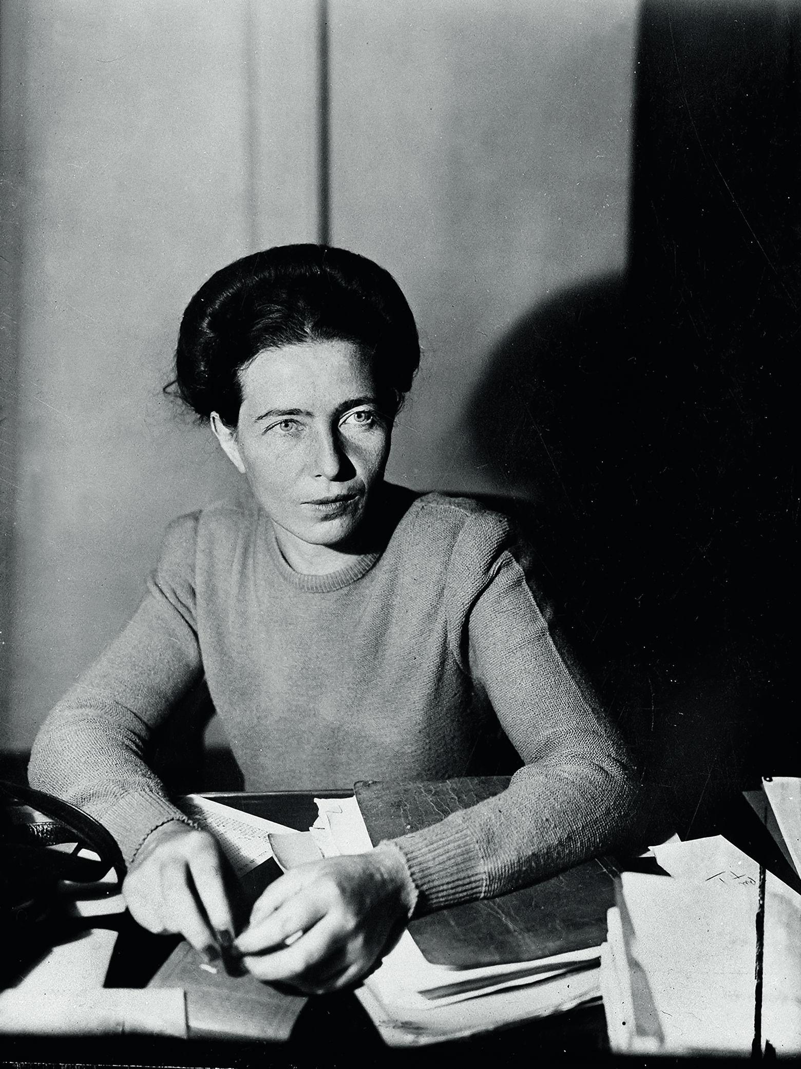 Писательница, философ, идеолог феминизма Симона де Бовуар