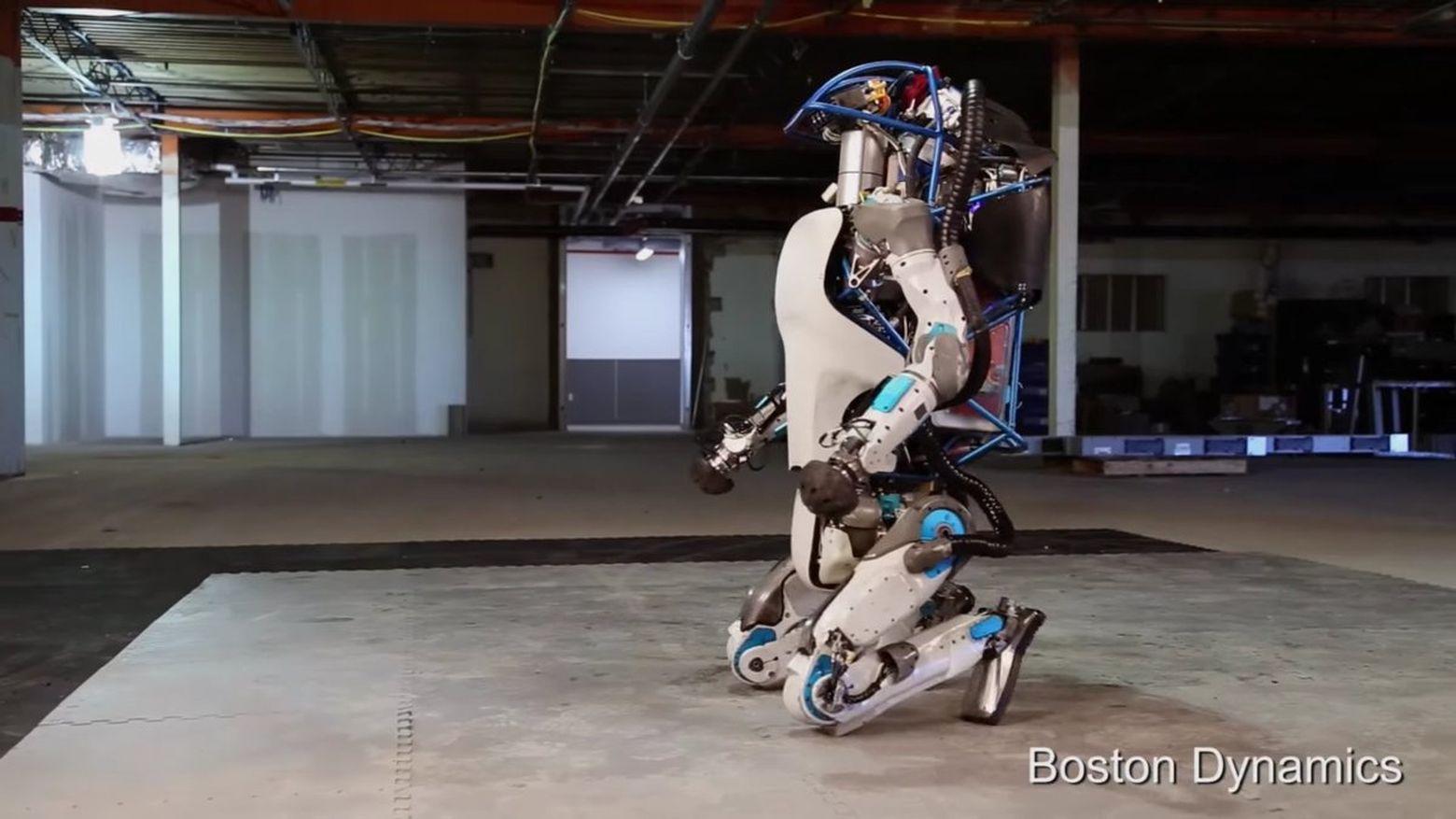 Atlas robot Boston Dynamics