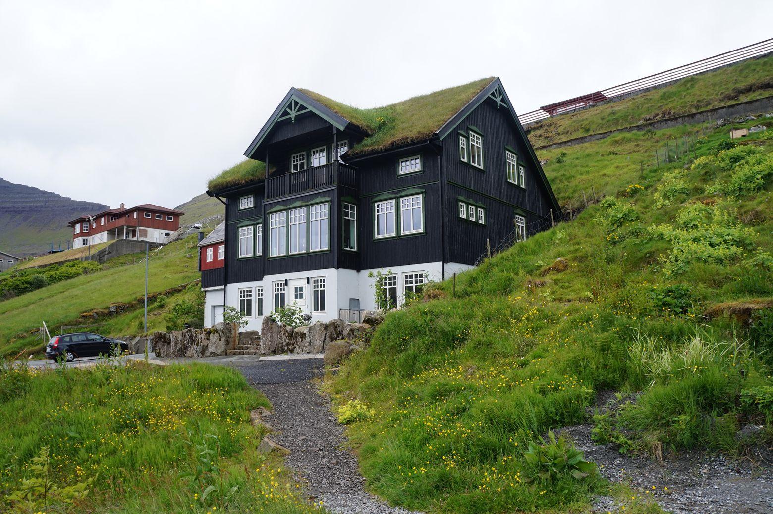 Фарерские острова. Типичная архитектура