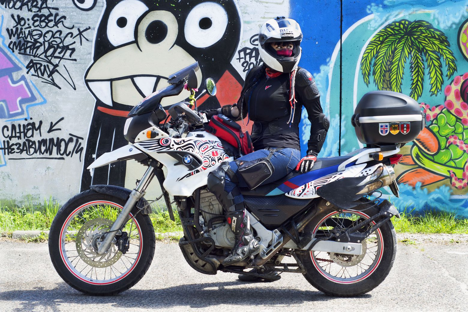 Катя катит. На мотоцикле — на Край Света