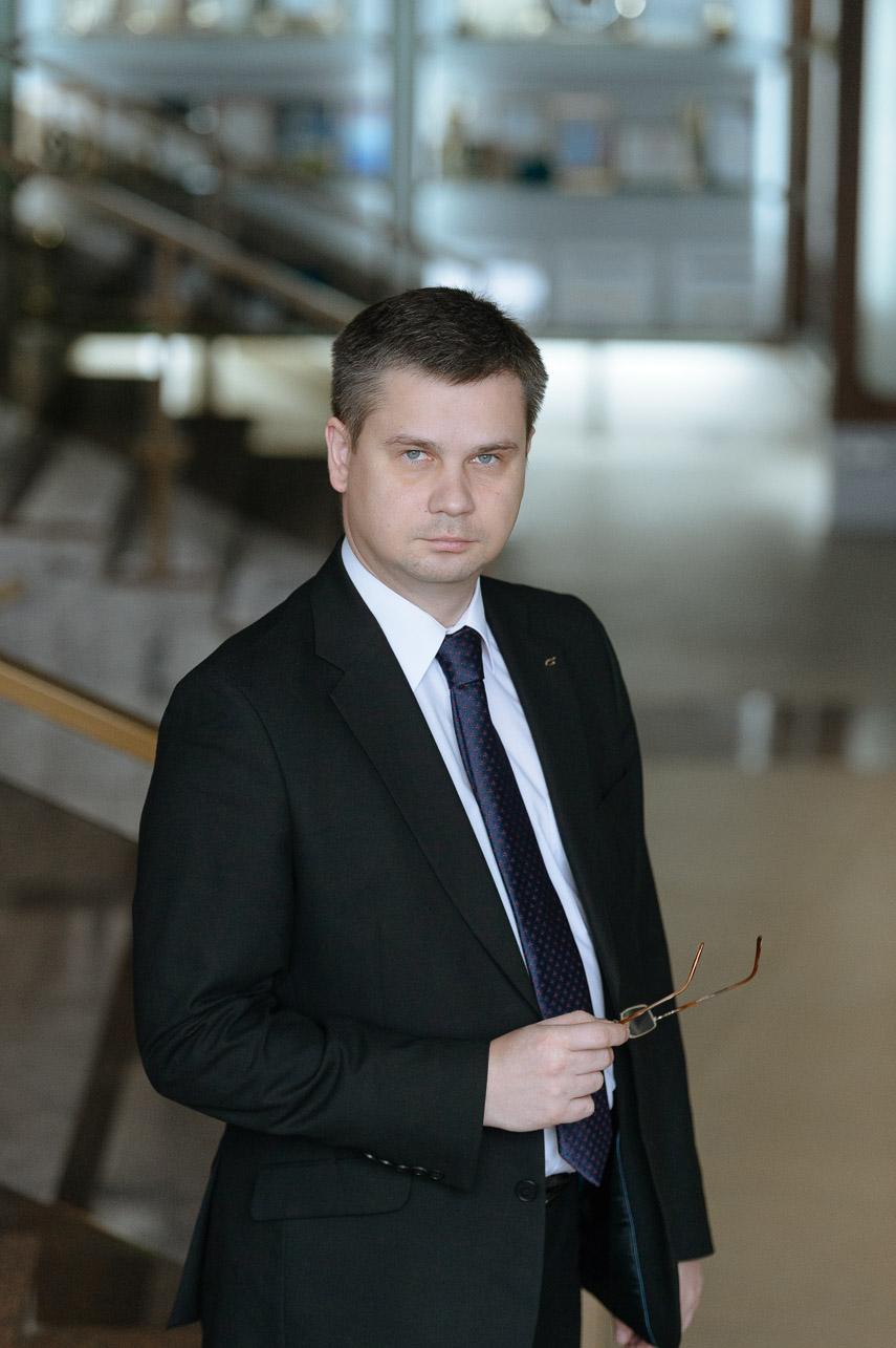 председатель правления ОАО «Белинвестбанк» Андрей Бриштелев
