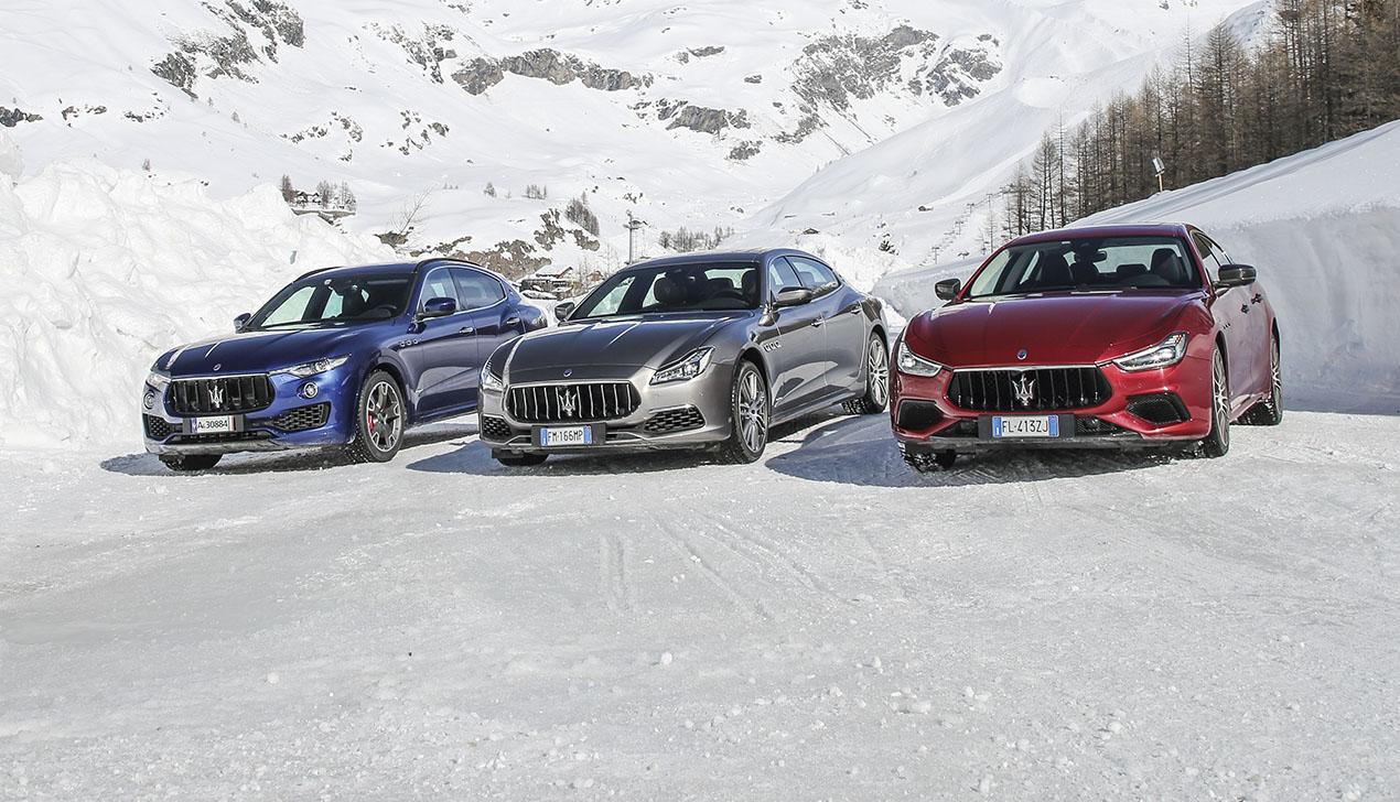 Три грации Maserati