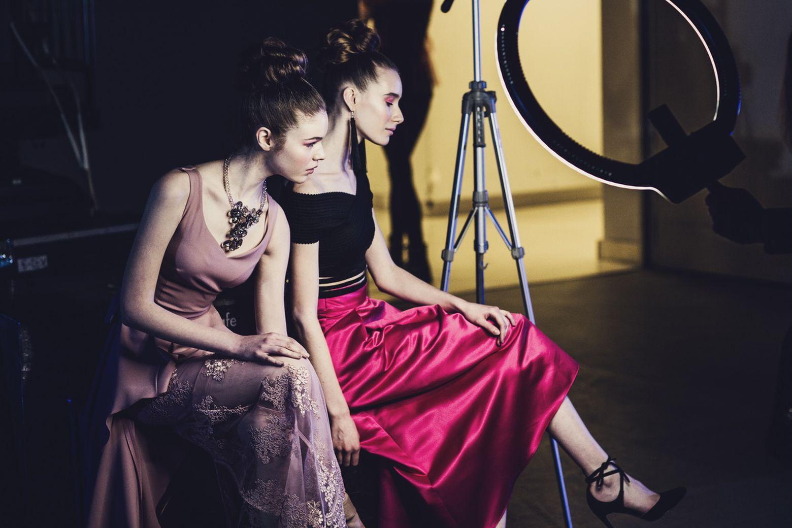 backstage Brands Fashion Show