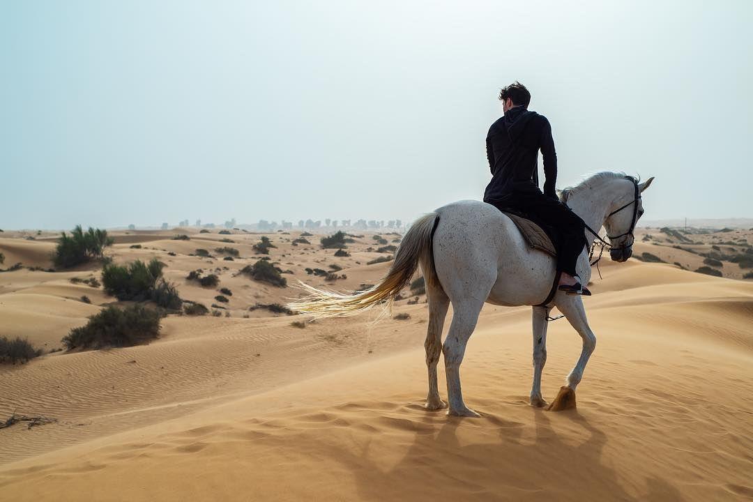 Павел Дуров на коне