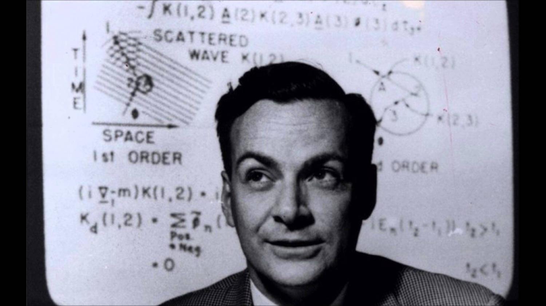 Ученый Ричард Фейнман