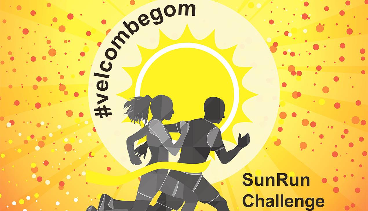 #velcombegom зовет людей с веснушками пробежать в помощь детям