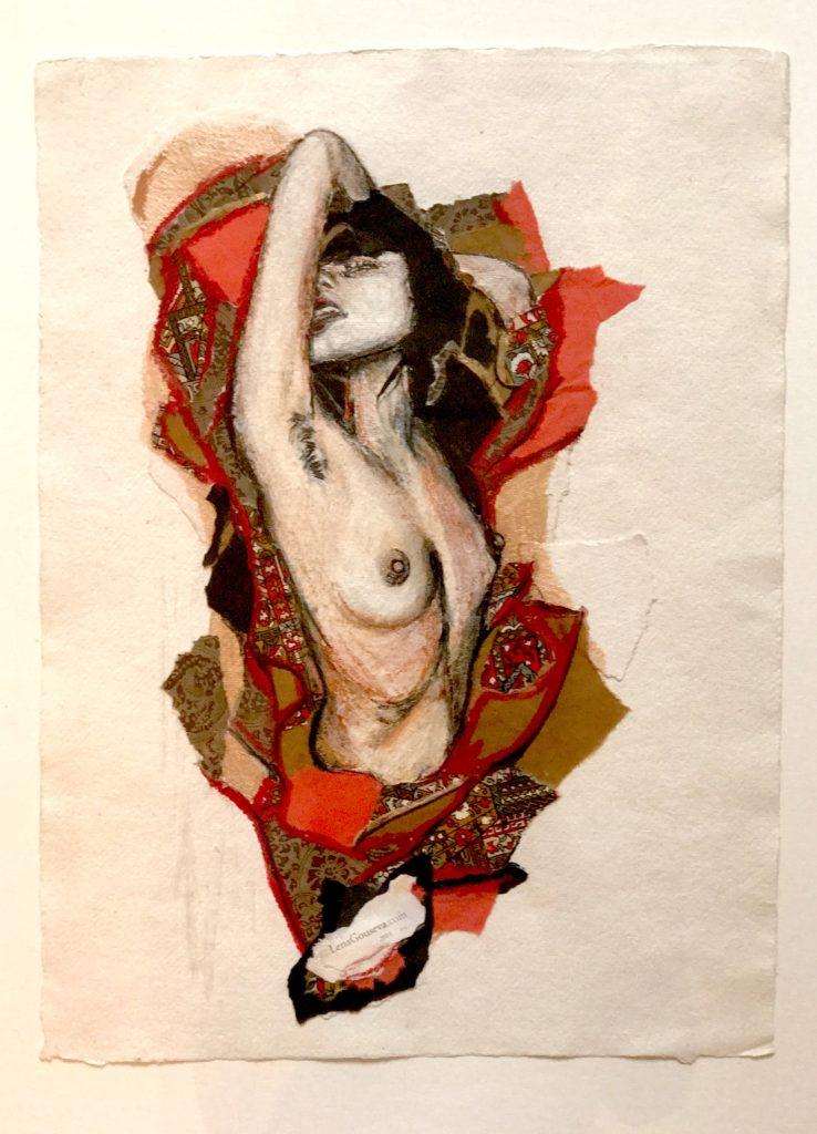 Лена Зински, «Ignis», смешанная техника