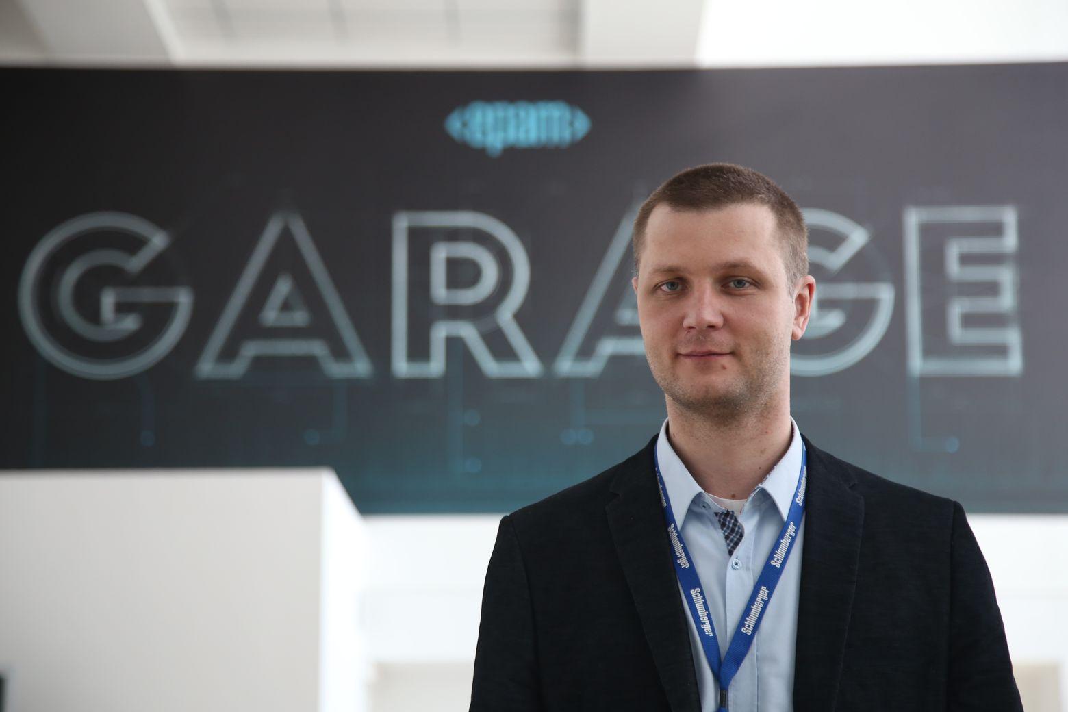 """Главный по """"гаражу"""" EPAM - Сергей Бойко"""