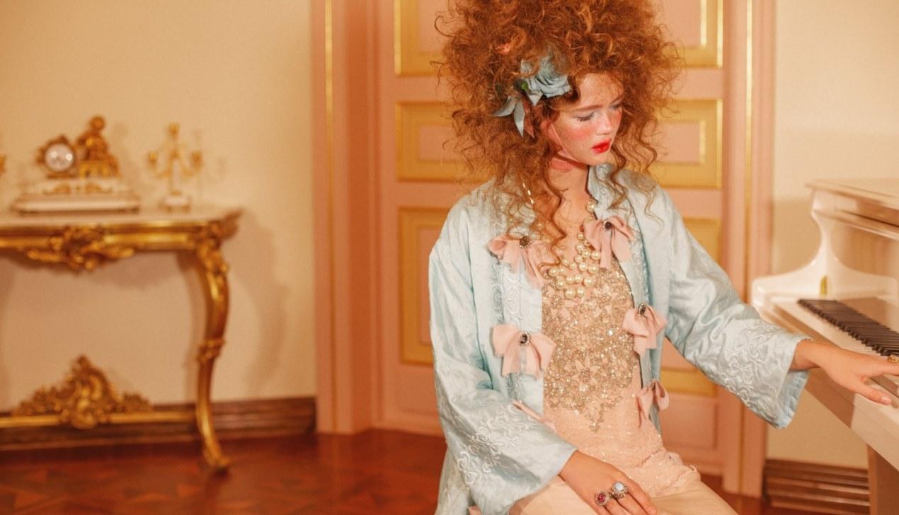 Мария-Антуанетта. Fashion-story от Анастасии Фурсовой и Ханны Яцко