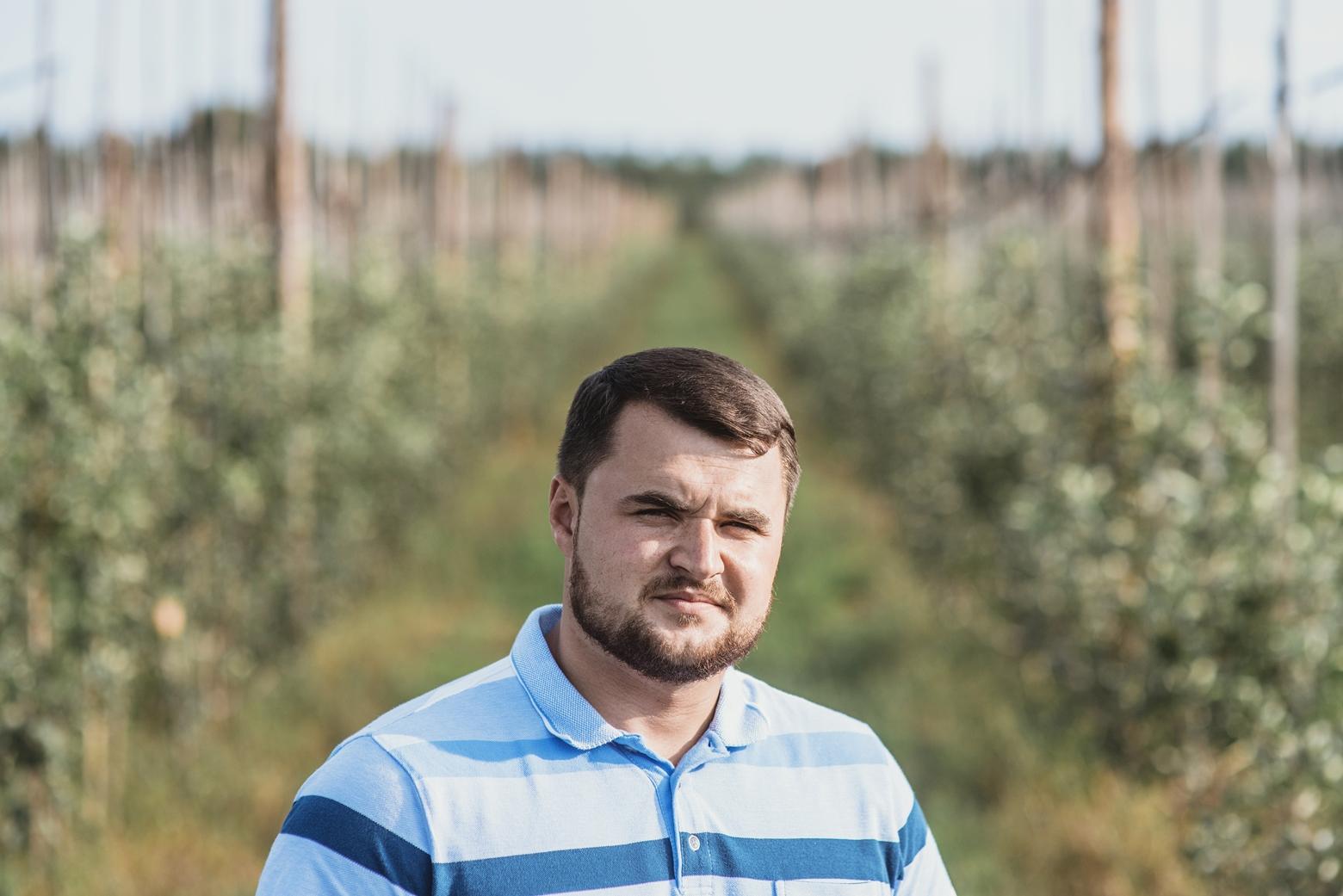Сергей Гриб, фермер