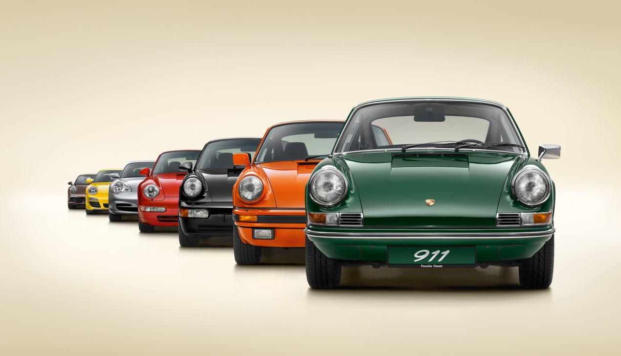 От 40 до 887 л. с.: 70 лет спортивным автомобилям Porsche