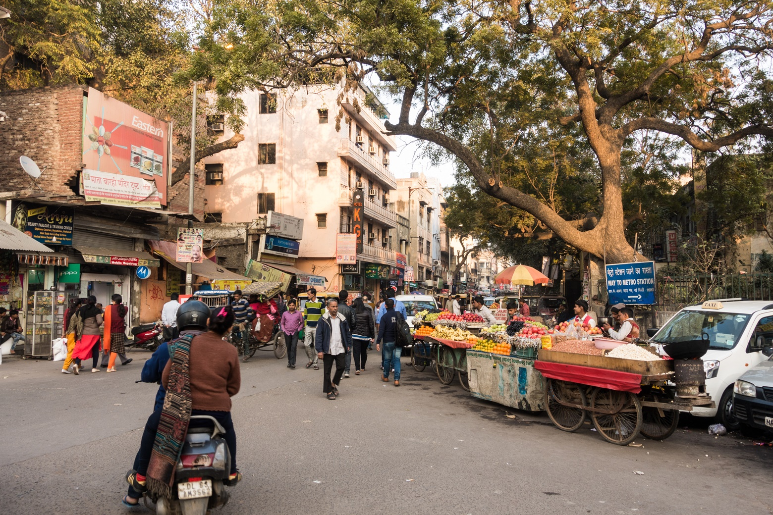 улица в Индии