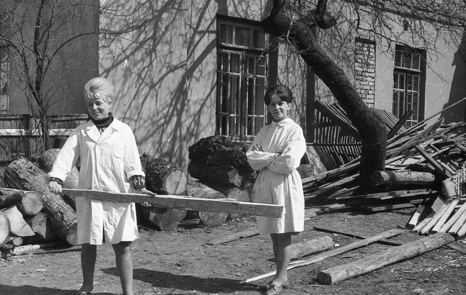Федор Полищук, субботник в психиатрии, 60-е, Гродно