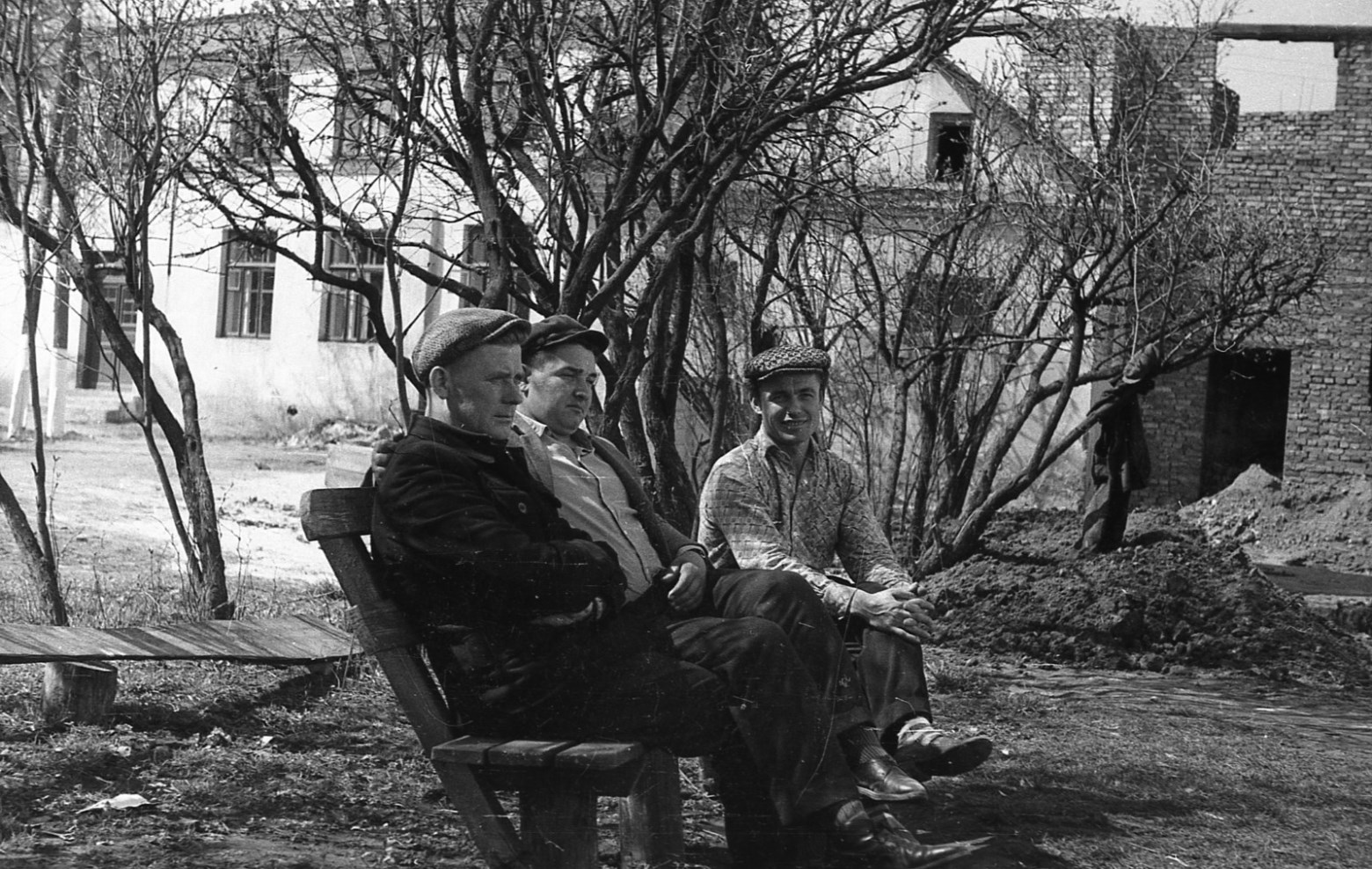 Федор Полищук, ретро фото, Гродно, 1960