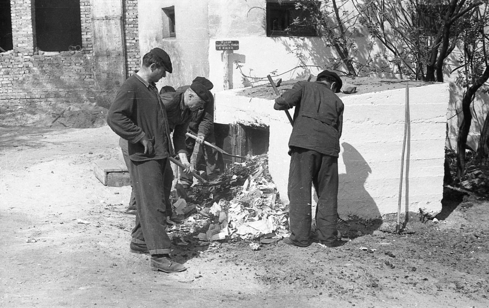 Федор Полищук, фотоснимок субботник, 1960-е