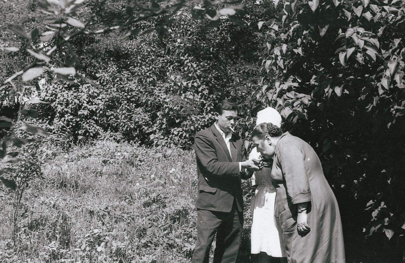 Федор Полищук, фото из Гродненской психиатрии, 1960-е