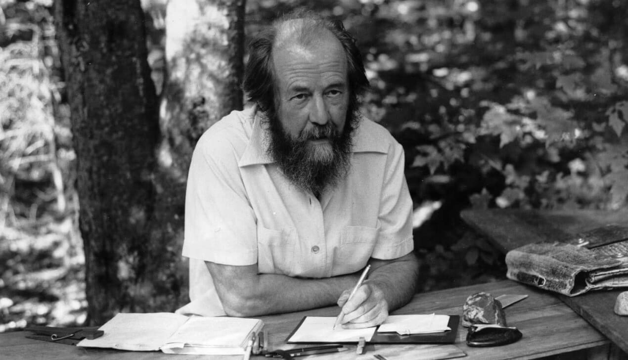Александр Солженицын: «Той единственной пули, которая тебя убьет — ты не услышишь»