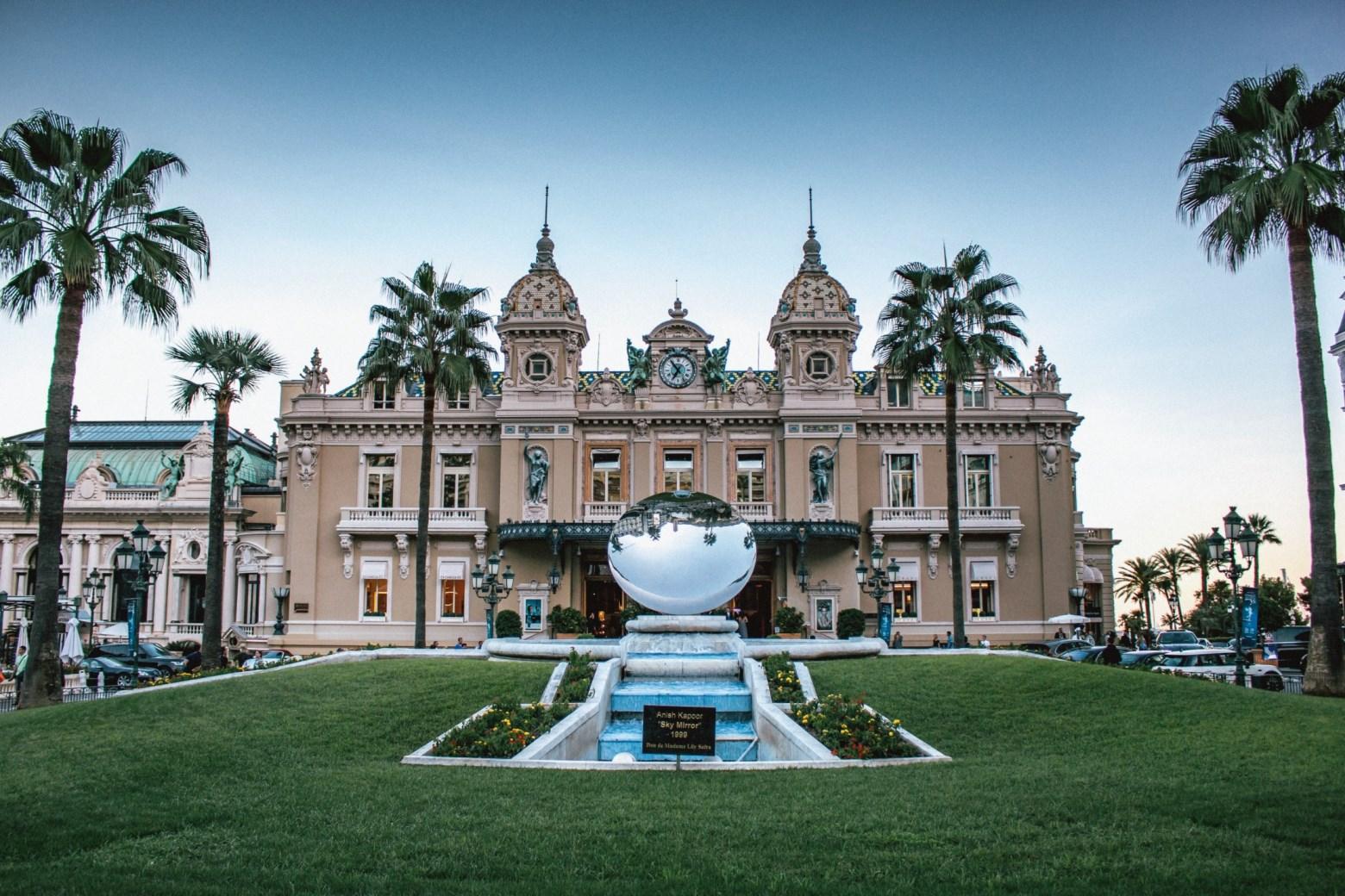 Монако путешествие Большой, замок