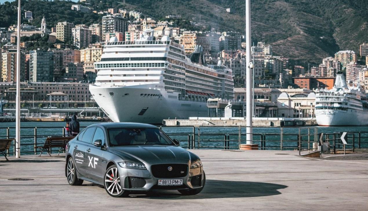 В Монако на Jaguar
