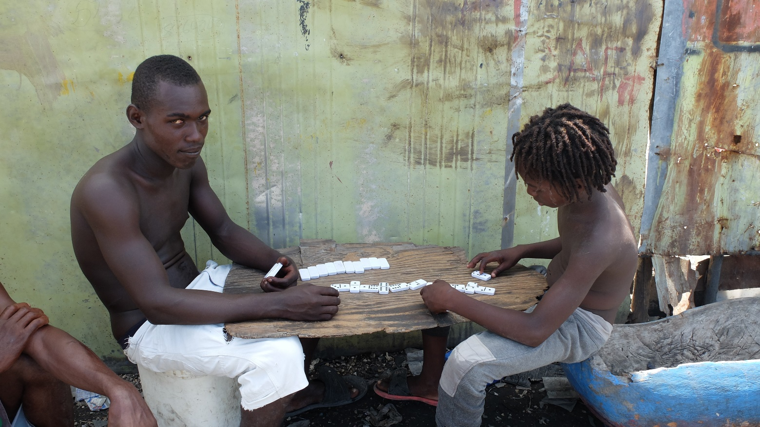 Гаити. Трущобы Сите Солей в Порт-о-Пренс