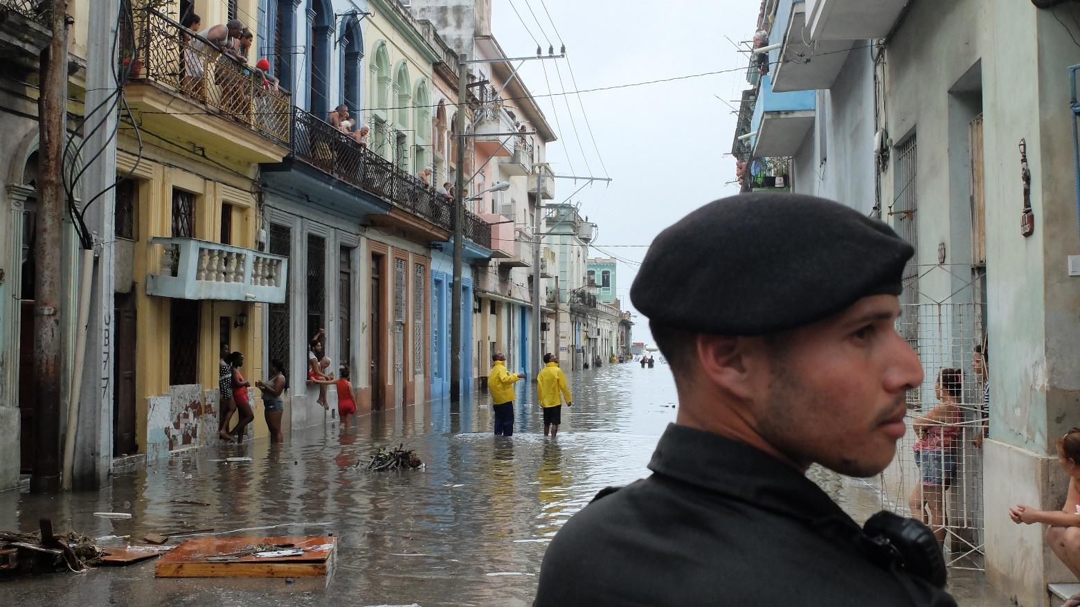 Куба. Гавана после урагана Мария