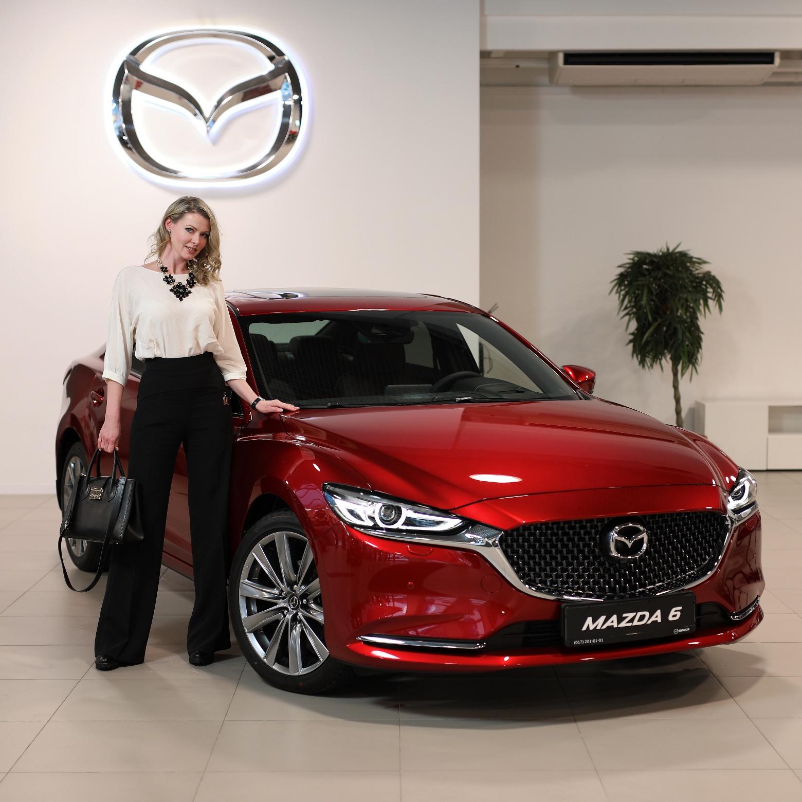 Mazda6 презентация Елена