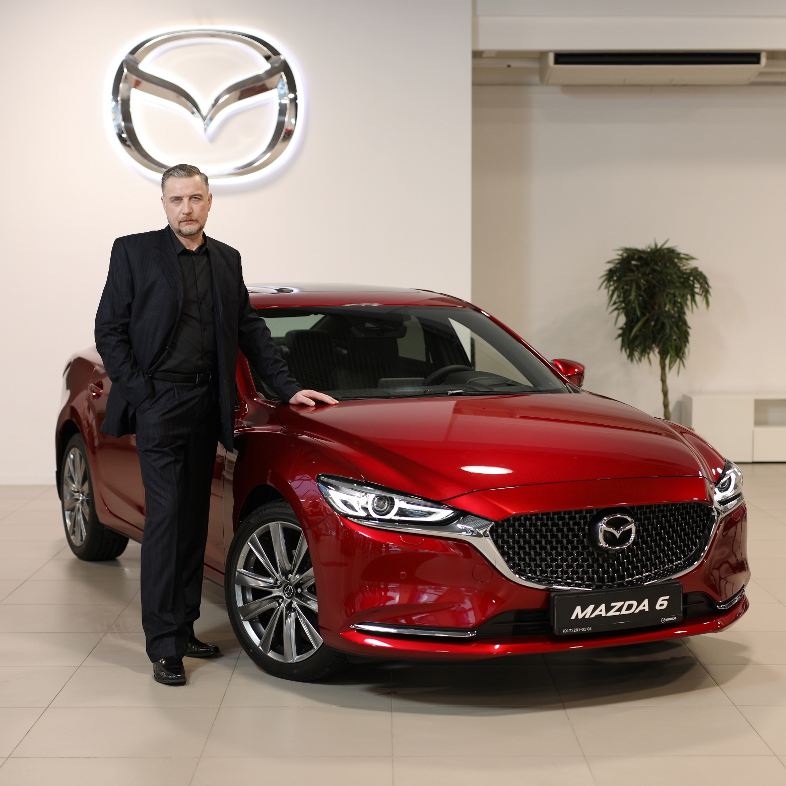 Mazda6 презентация Виктор