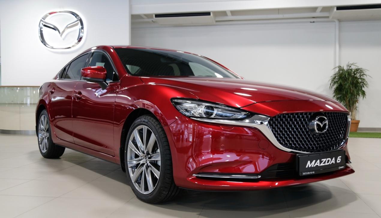Новая Mazda 6. Совершенство класса «премиум»