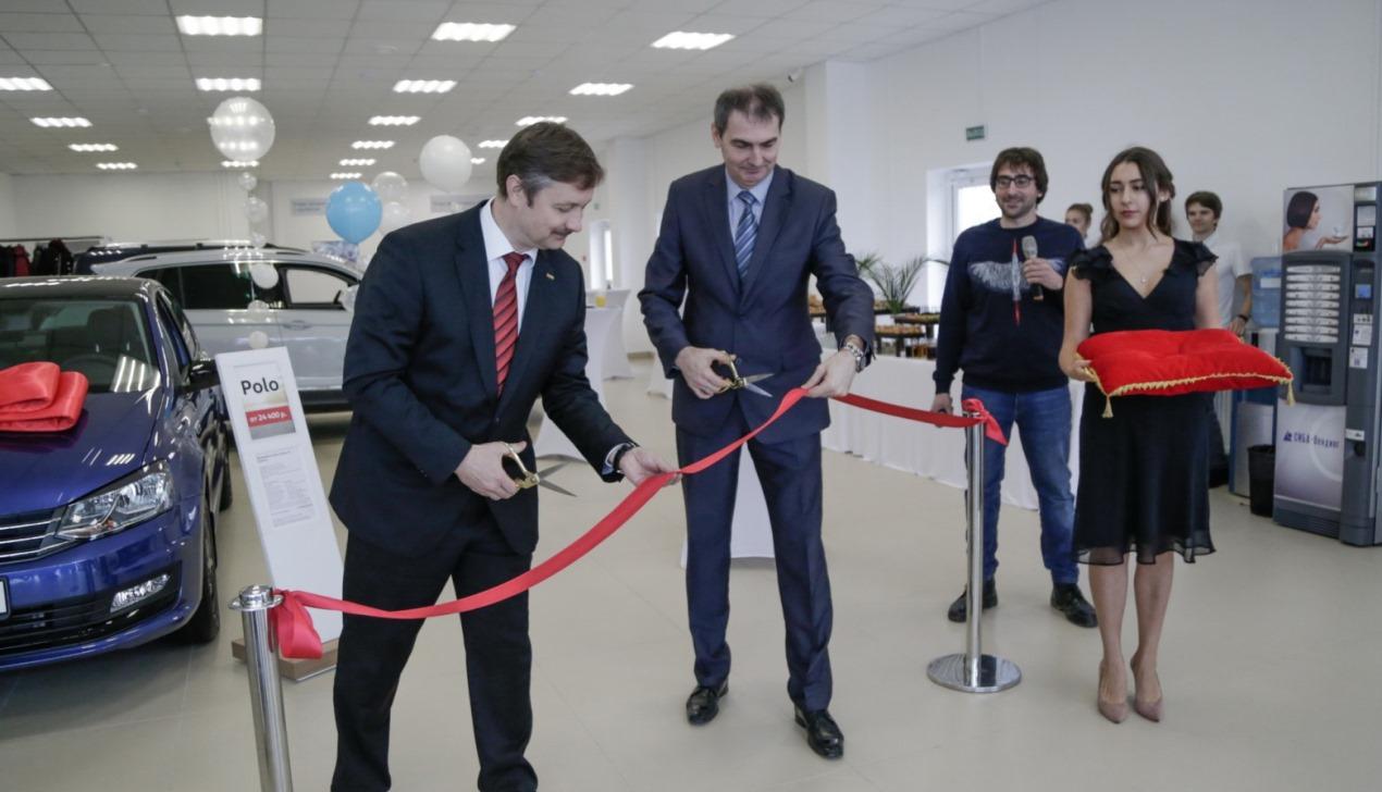 Volkswagen расширяет дилерскую сеть: теперь и в Каменной Горке!