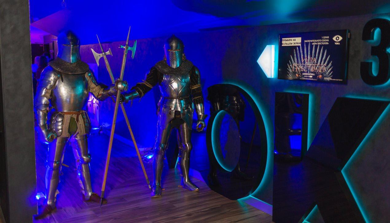 Минские фанаты «Игры престолов» посмотрели премьеру нового сезона на большом экране