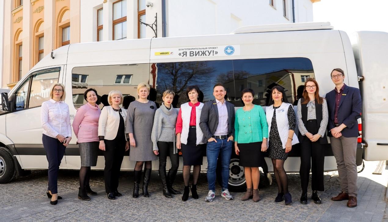 Врачи-офтальмологи благотворительного проекта «Я вижу!» проверят зрение у 14 тысяч детей Витебской области