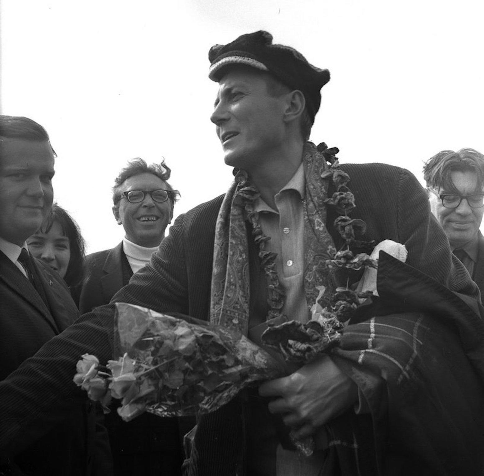 Визит Евгения Евтушенко в Минск в 1970 году