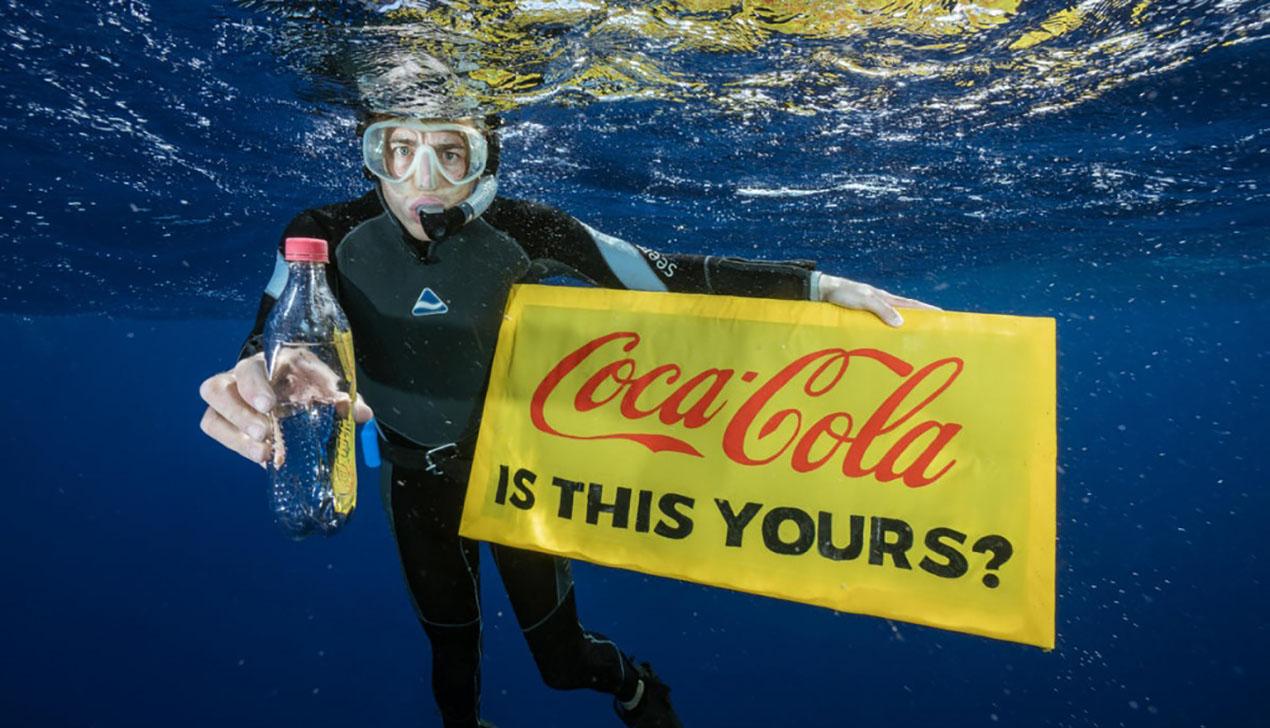 Coca-Cola признана лидером по загрязнению планеты пластиком
