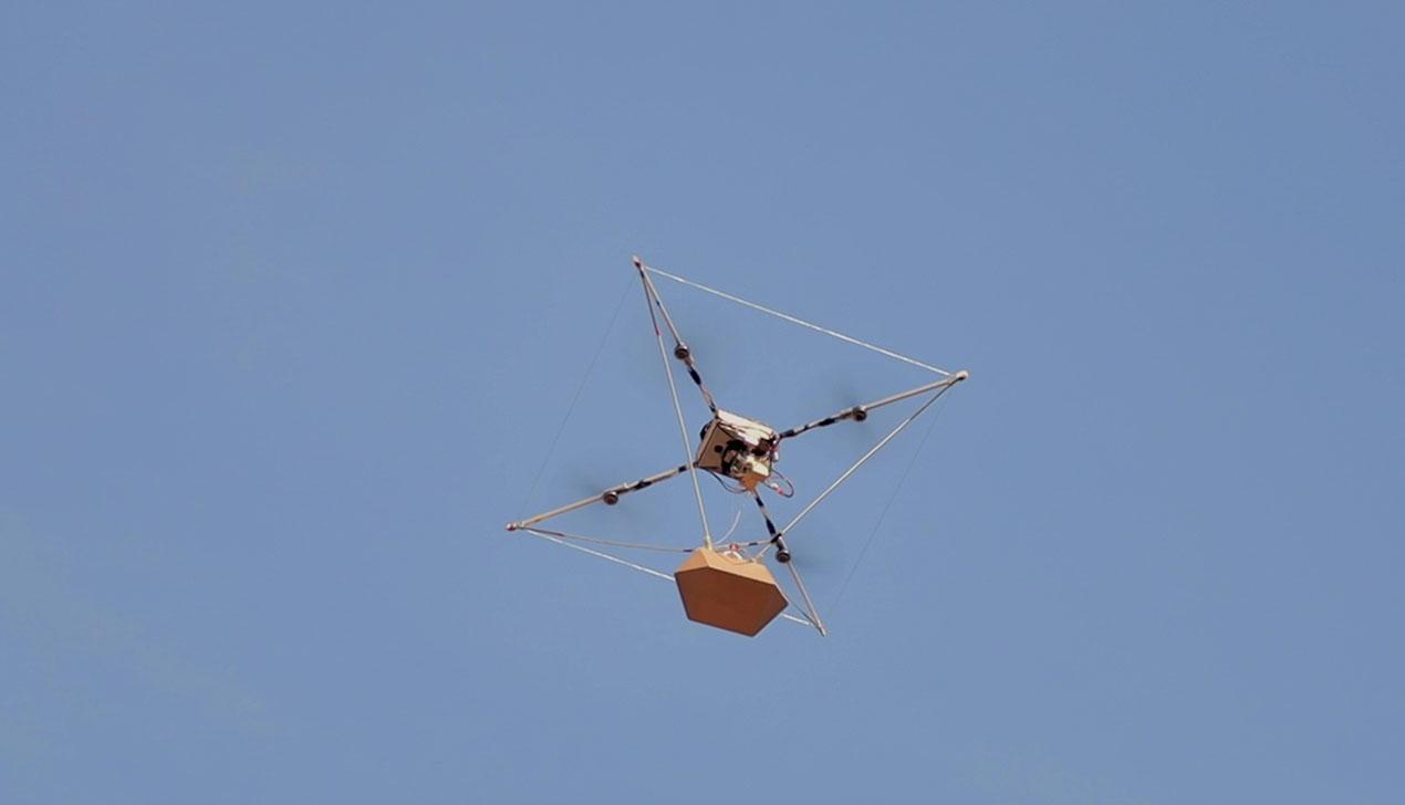 Еду в Минске начали доставлять дроны